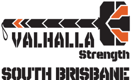 Valhalla Strength South Brisbane (Transparent Background - Black Text)