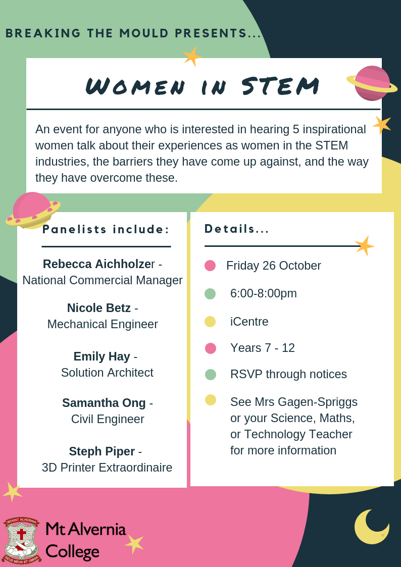 Breaking the mould presents... Women in STEM